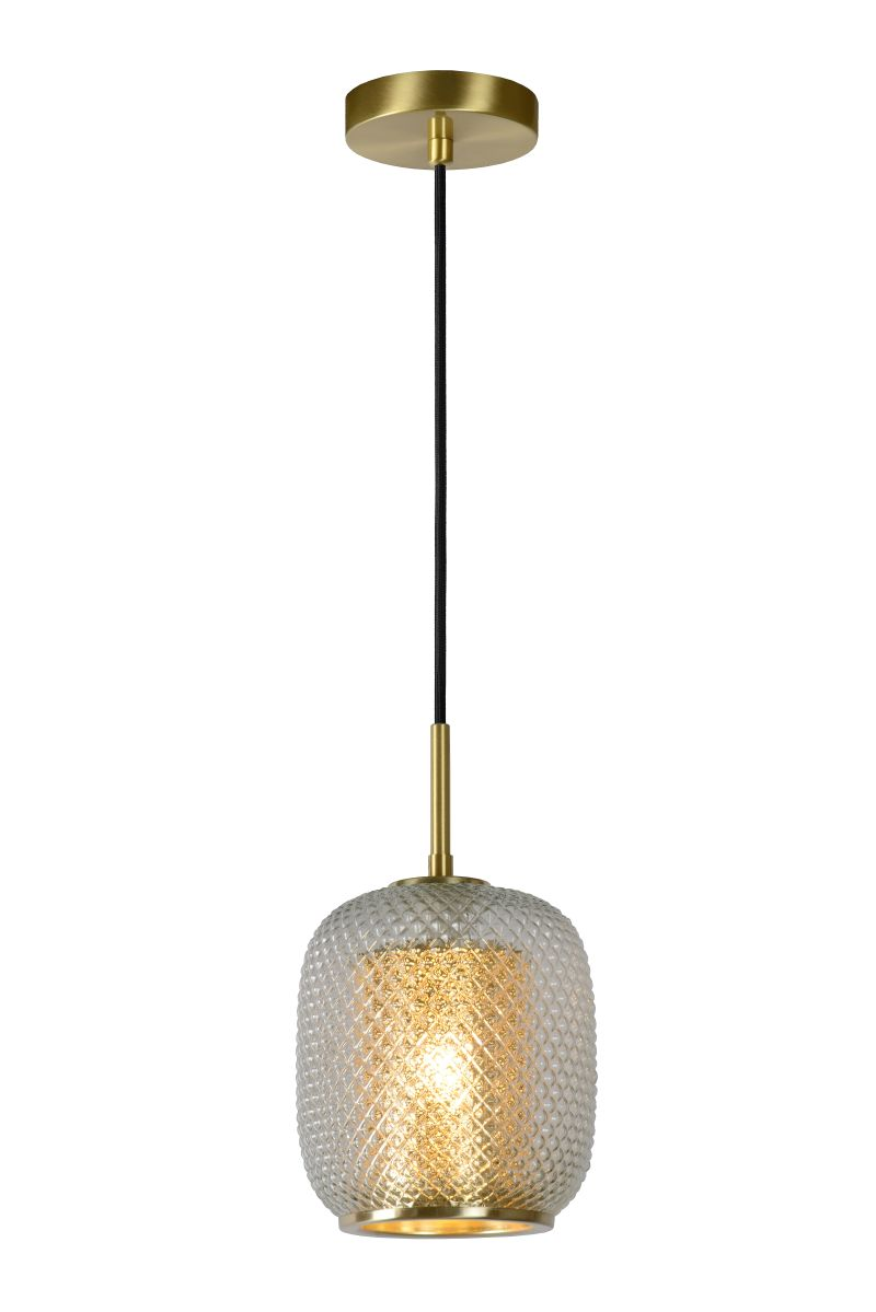 AGATHA Pendant 1x E27/40W Matt Gold / Glass (03433/01/02)