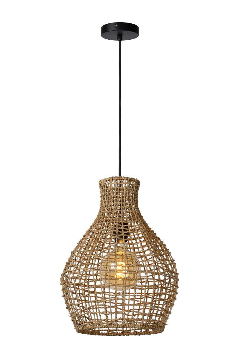 ALBAN Pendant E27/40W Light Wood (03438/35/72)