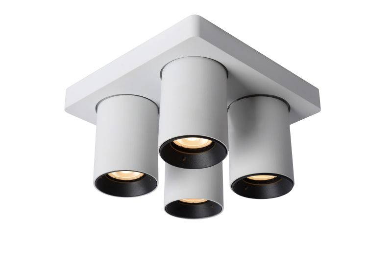 NIGEL Ceiling spotlight 4xGU10/5W White