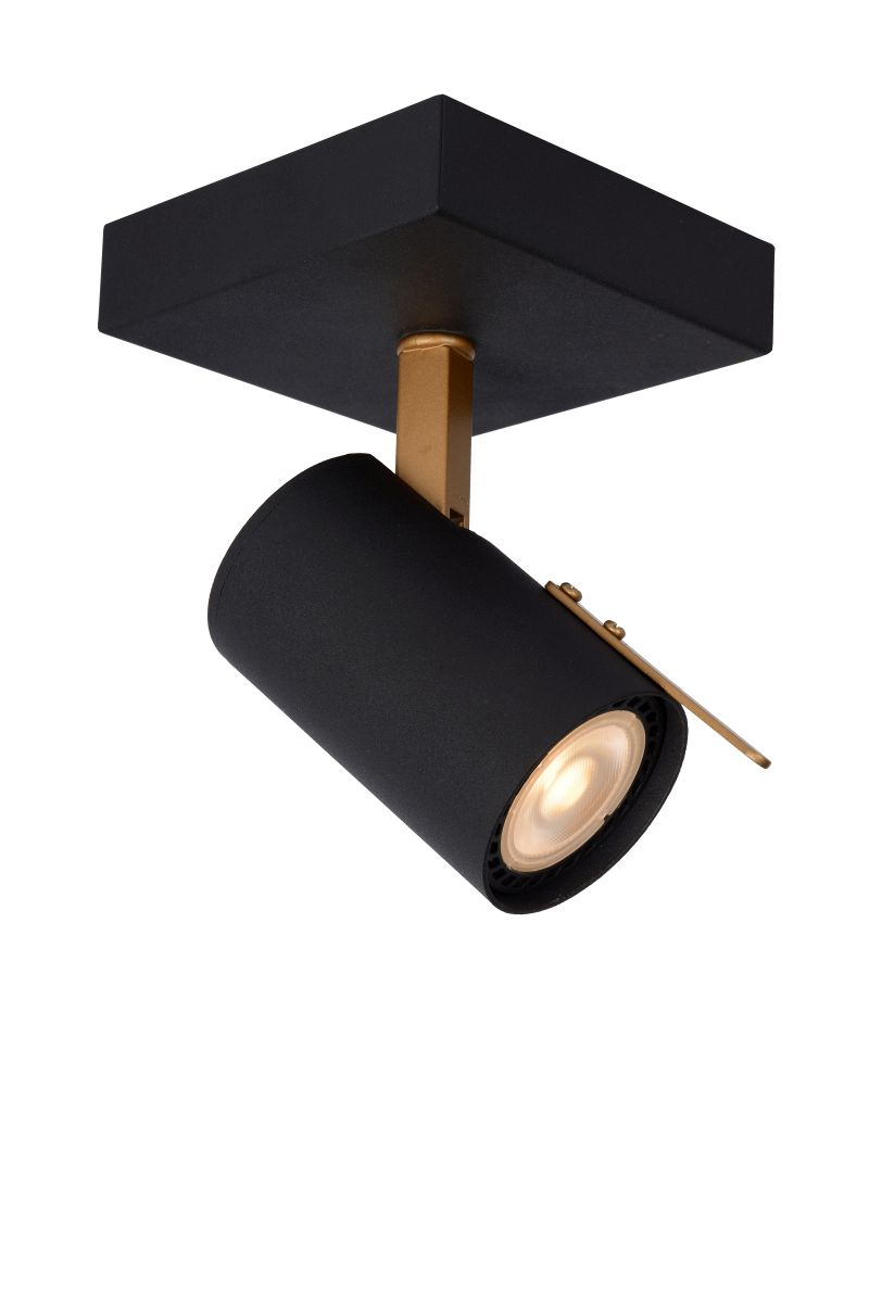 GRONY Wall Spotlight Gu10/5W  Black/Gold