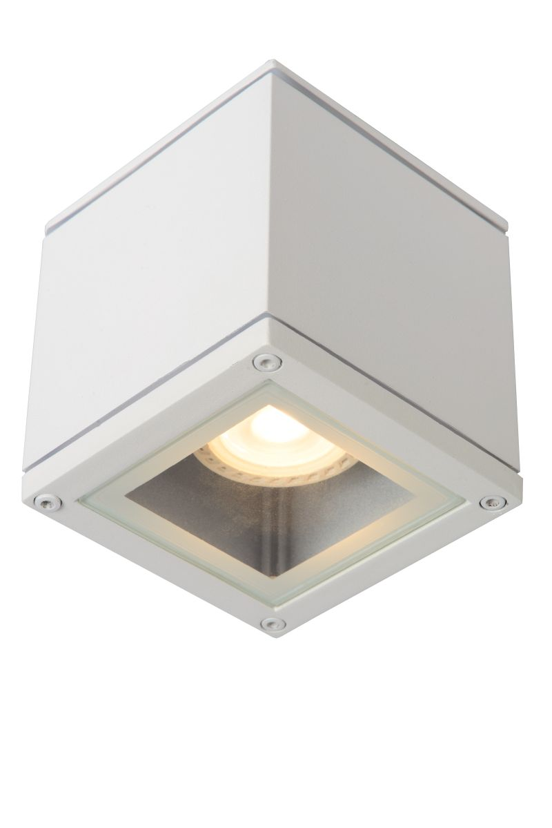 AVEN Ceiling spotlight Square Gu10/50W  White