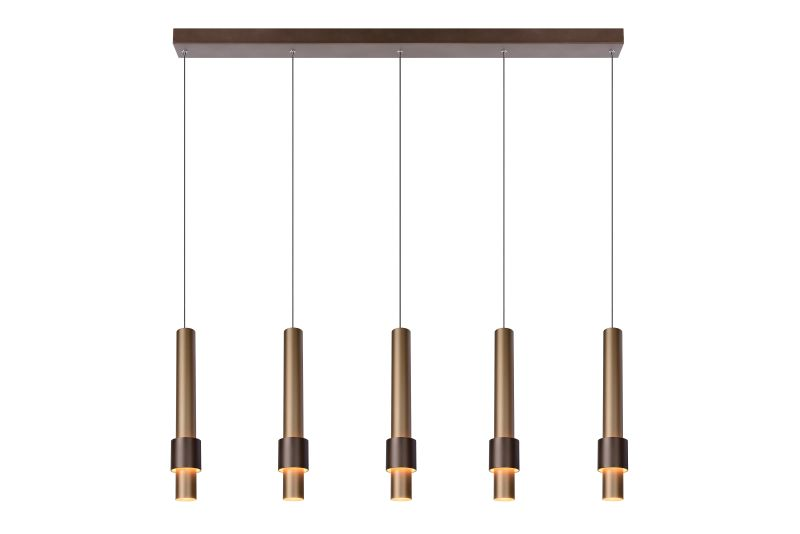 MARGARY Pendant Led 5x5W 2700K Coffee