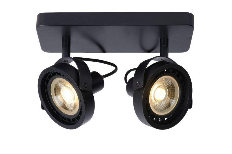 TALA LED Spot 2x GU10/12W DTW Black