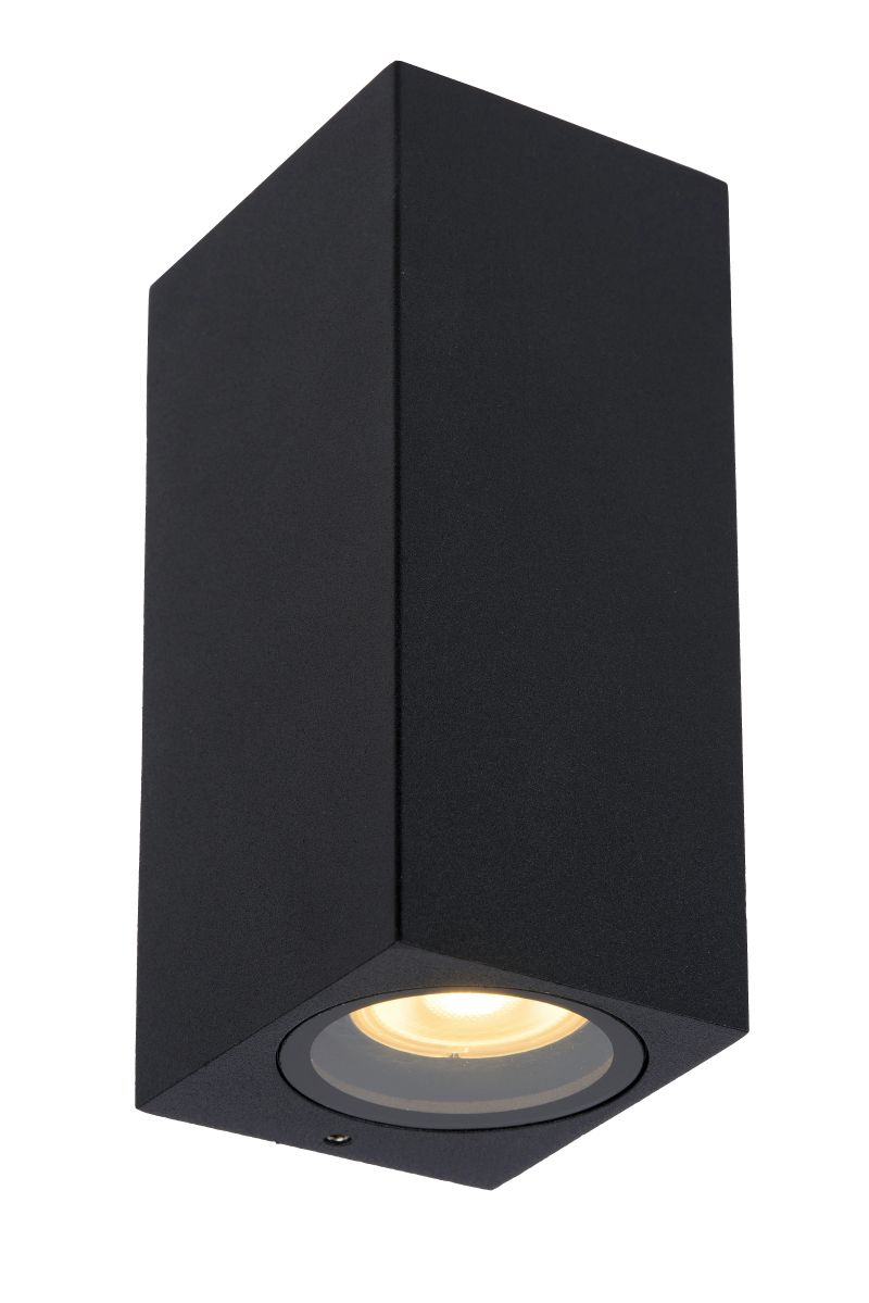 ZARO Wall spotlight Bathroom  2xgu  Black